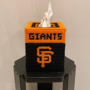 San Francisco Giants Cube Shaped Tissue Box Cover